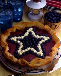Red White Blueberry Cheesecake