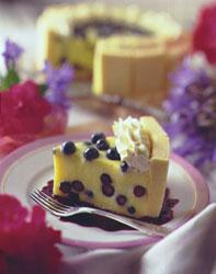 Blueberry Lemon Charlotte