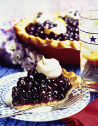 Double Blueberry Pie