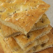 Golden Focaccia Bread