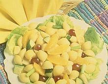 Orange Pasta Salad