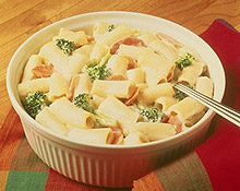 Rigatoni Vegetable Casserole