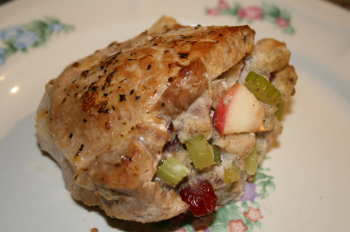 Stuffed Pork Loin Chops