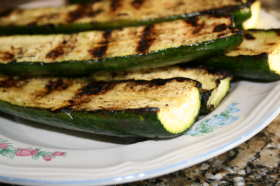 Picture Grilled Vegetable Zucchini Copyright 2007-2009