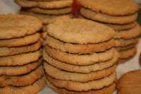 Pressed Peanut Butter Cookies