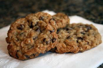 Oatmeal Chocolate Cookie